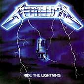 Metallica - Ride the Lightning (Original CD, Jul-1987, Elektra 960396-2)