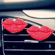 Fashion Lips Air Conditioning Vent Clip with Perfume Air Freshener Fragrance