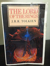 JRR Tolkien - The Lord of the Rings One Volume UK Unwin Hyman 1988