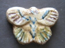 CHINA-SIAM---PORCELAIN GAMBLING TOKEN---BUTTERFLY---22 x 16 mm.