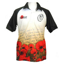 Army Letter Home Poppy Rugby Shirt