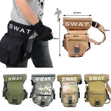 2017 NEW SWAT OUTDOOR LEG DROP UTILITY BAG THIGH PACK FANNY PACK