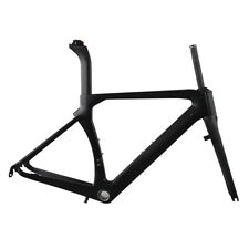 ICAN Full Carbon Fiber Aero Road Bike Frameset 45-60cm BB86&Di2