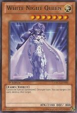 3x White Night Queen - ORCS-EN090 - Rare - Unlimited Edition Near Mint