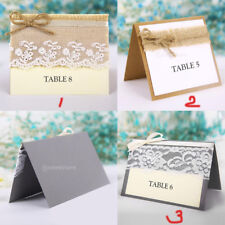 10pcs Guest Party Name Table Place Cards Gift Shabby Rustic Wedding Party Favors