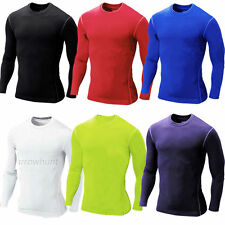 Men Compression Shirt Armour Base Layer Tight Tops Thermal Pants Gym Sports Wear