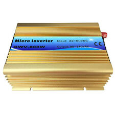 600W Grid-Tie Inverter Pure Sine Wave Inverter DC22-60V Solar Power Inverter