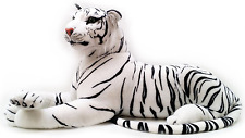 New Large White Tiger Soft Toy Plush Small, Large And Jumbo Huge Cuddle Tiger