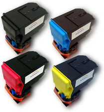 4 Toner cartridges compatible with Epson Aculaser C3900