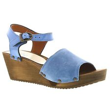 Sanita Wood Edel Wedge Flex Sandal Women's Clogs - All Colors - All Sizes