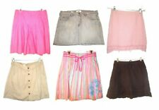 Sz 6-16 - Old Navy Above Knee & Knee Length Skirts in Pink, Beige & Brown