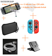 HoT For Nintendo Switch Bag Case Screen Protector Card Box Accessories