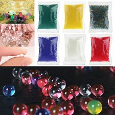 10000 x Jelly Beads Water Plant Flower Crystal Soil Mud Water Pearls Gel Balls