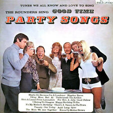 Rounders, The-Good Time Party Songs LP-Stereo Gold Award, MER 339, 1971, 13 Trac