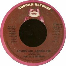 "Phyllis Hyman-Loving You Losing You / Children Of The World 7"" 45-BUDDAH, BDA 56"