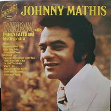 Johnny Mathis With Percy Faith & His Orchestra-Warm LP-Embassy, EMB 31045, 1974,