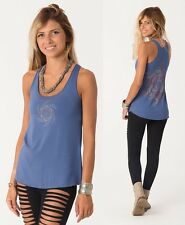 Womens Tank Top Festival Tank, Psychedelic Top, Trance Clothing