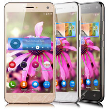 """Cheap Quad Core Android 5.1 Smartphone 3G Unlocked 5"""" Mobile Phone Dual SIM GPS"""
