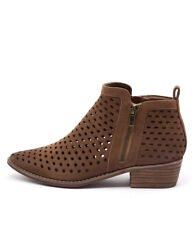 New Therapy Navarro Tan Women Shoes Casuals Boots Ankle Boots