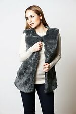 Grey Faux Fur Gilet Fashion, Ladies, Womens, Trends, Must Have 2016