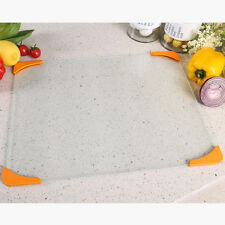 Easy to clean Tempered Glass Cutting Chopping Kitchen Chef Glass Board