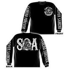 Sons Of Anarchy SAMCRO Forever SOA Men's Long Sleeve T-Shirt