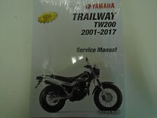 2009 2010 2011 2012 YAMAHA TW200 TRAILWAY TW 200 Owners Service Shop Manual NEW