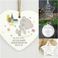 Personalised Christening Gifts for Boys Girls Baby Christmas Xmas Decorations