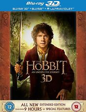 The Hobbit: An Unexpected Journey - Extended Edition Blu-ray 3D + Blu-ray new