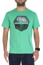 Rip Curl Established 1969 Short Sleeve T-Shirt in Simply Green