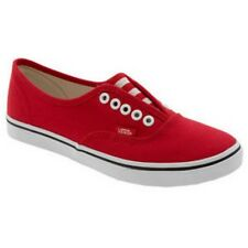 VANS AUTHENTIC LO PRO GORE FORMULA ONE SHOES SNEAKERS - RED MENS 10 W 11.5 28CM