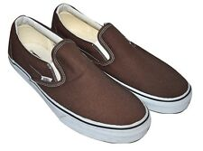 VANS CLASSIC SLIP ON CASUAL SHOES SNEAKERS - ESPRESSO MENS 13 31CM