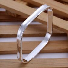 925 Solid Silver Bangles & Bracelets Mothers Day Special Offer Sale ~ UK Seller