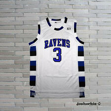 One Tree Hill Lucas Scott 3# Ravens Basketball Jersey White S-2XL