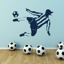 Footballer Sport Wall Sticker Home Vinyl Art Decal Big Sport Transfer SP12
