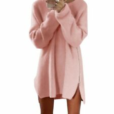 2017 Sweaters Tunic Jumper Party Dresses Women Long Sleeve Robe Pull Femme ma...