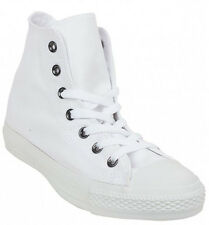 CONVERSE CHUCK TAYLOR ALL STAR HI  1U646  CLASSIC - UNISEX  WHITE TRAINERS