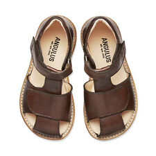 SALE Designer Angulus Boys Sandal with closed toe in Brown Kids Size RRP £69.95