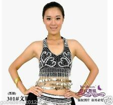 Brand New Sexy Belly Dance Bra Top 34-38BC 10 Colours Available Free Shipping