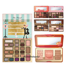 Too Faced Chocolate Bar & Bon Bons & Semi Sweet Peach GLOW Eyeshadow Palette New