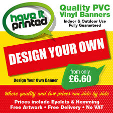 Heavy Duty PVC Vinyl Banners Printed Full Colour Outdoor Business Advertising