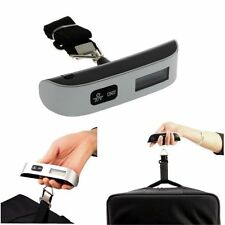 50 kg / 110 lb Electronic Digital Portable Luggage Hanging Weight Scale CA