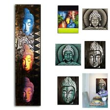 BUDDHA OIL PAINTINGS ON CANVAS STRETCHED ON A WOOD FRAME CHOOSE YOUR DESIGN