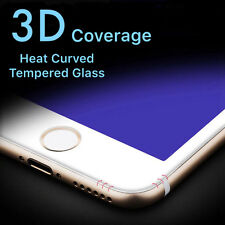 NEW 3D Anti BlueLight Full Cover Tempered Glass Screen Protector For iPhone