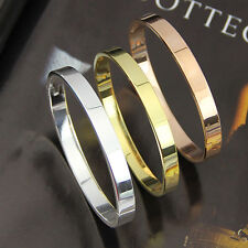 Men's Women's Copper Lover Polished Cuff Bangle Gift Bracelet Wristband Popular