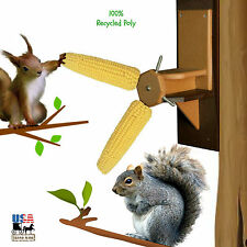 SPINNING SQUIRREL FEEDER Fun Way 2 Keep from Bird Feeders 100% Recycled Poly USA