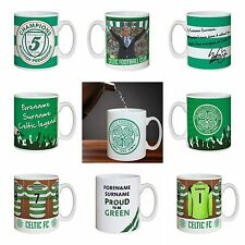 Personalised Official Celtic Football Club FC Mugs Gifts for Fans Souvenirs