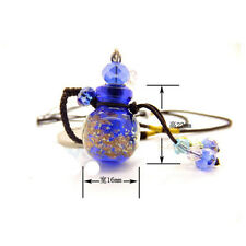 New Glass Bottle Essential Oil Necklace Diffuser Necklace Aromatherapy Pendant