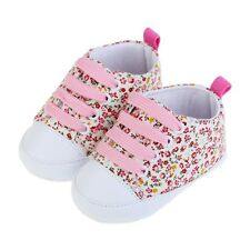 Soft Sole Crib Shoes Infant Toddler Baby Boy Girl Laces Up Shoes Sneaker 0-18M