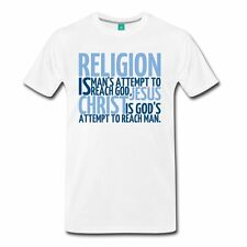Religion Jesus Christ Quote Men's T-Shirt by Spreadshirt™